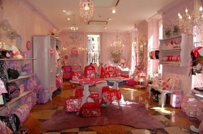 Hello Kitty Italian store