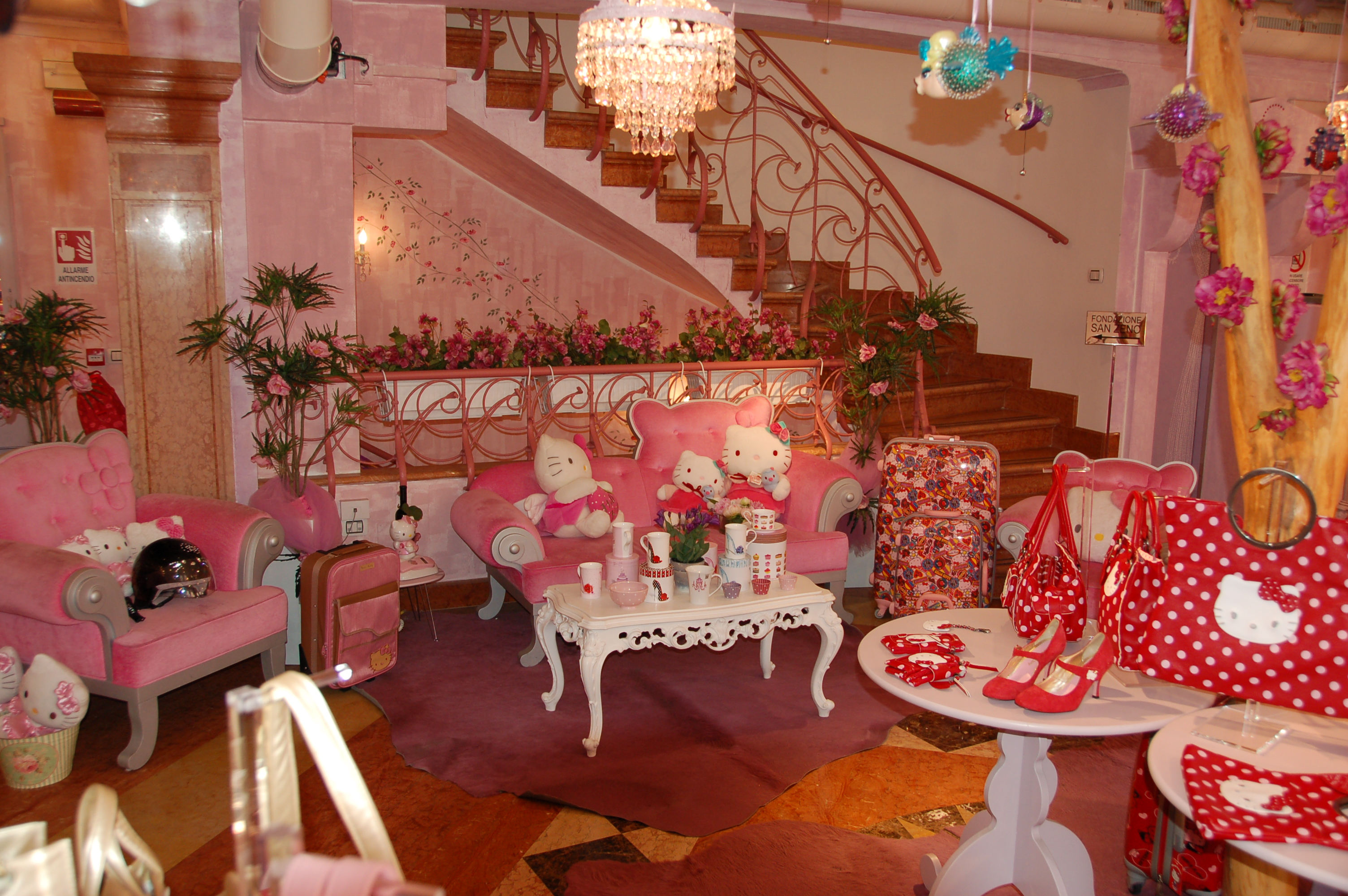 appealing hello kitty living room | Business – Hello Kitty Hell