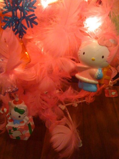 Hello Kitty Xmas tree ornaments