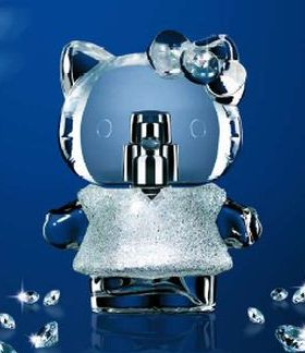 Hello Kitty diamond perfume
