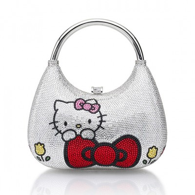 Hello Kitty Judith Leiber $4000 hobo bag