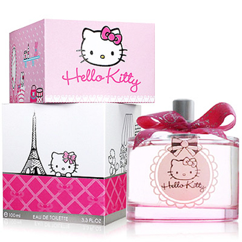 Hello Kitty parfum package
