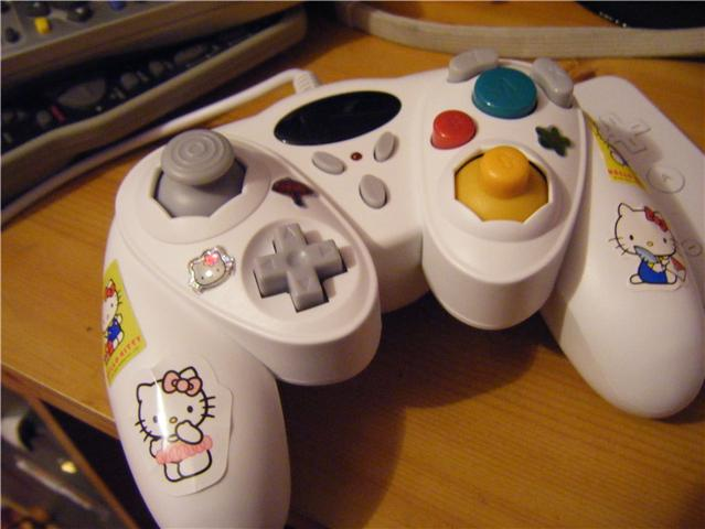 Hello Kitty Gamecube Controller Hello Kitty Hell