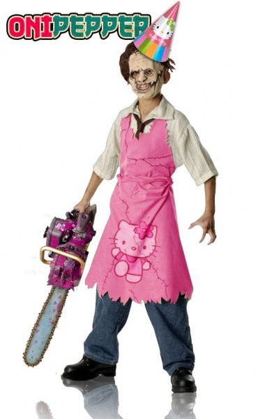 helllo kitty chainsaw onipepper