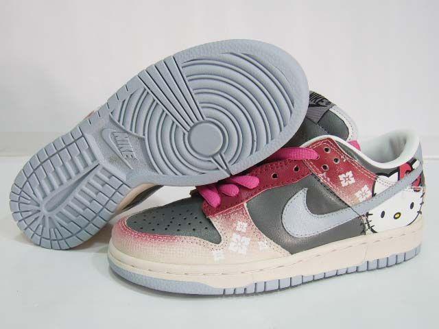 super cute 2b82b c56e3 hello kitty Nike dunks