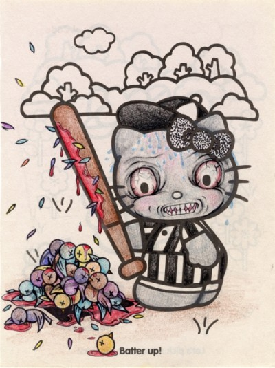 hello kitty batter up