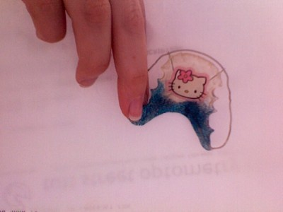 hello kitty dental retainer