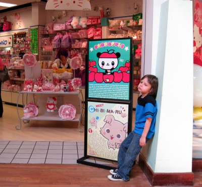 hello kitty fanatic kid
