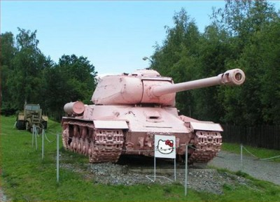 hello kitty tank