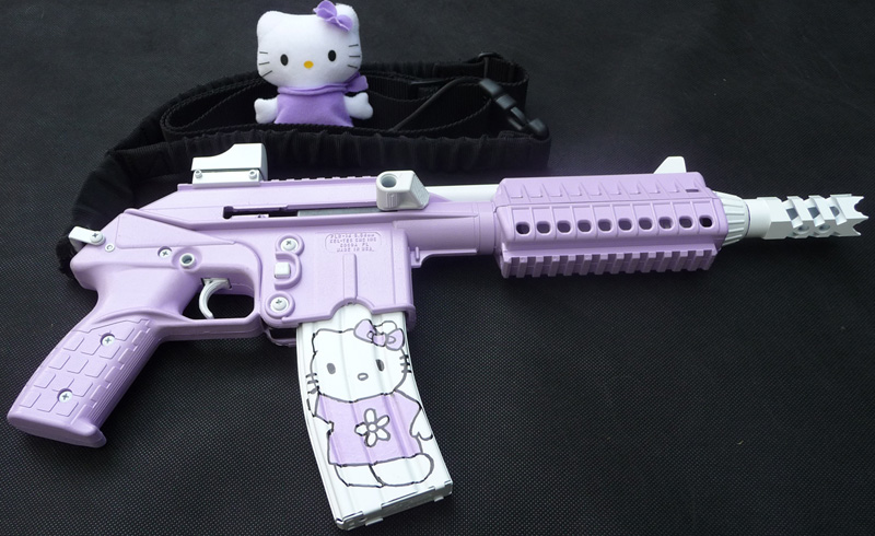1000  ideas about Hello Kitty Gun on Pinterest | Hello Kitty, Pink ...