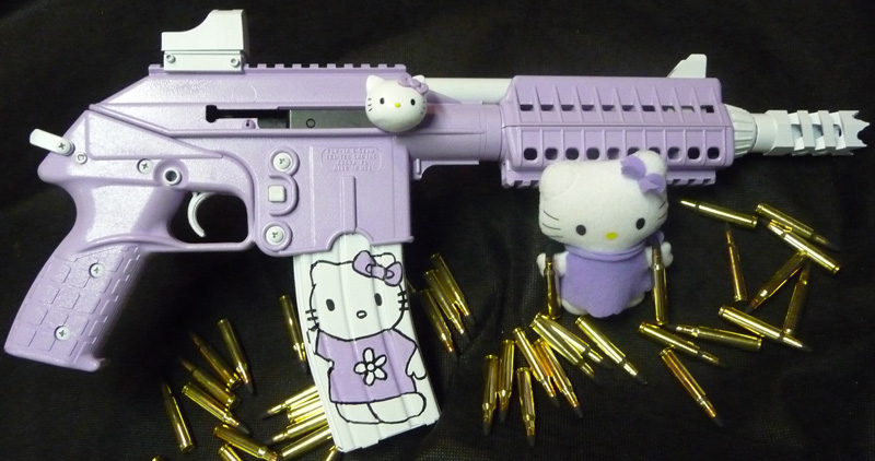 Hello Kitty Keltec Pistol | Hello Kitty Hell