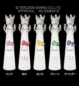 hello kitty jewelry water