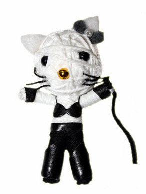 hello kitty voodoo doll