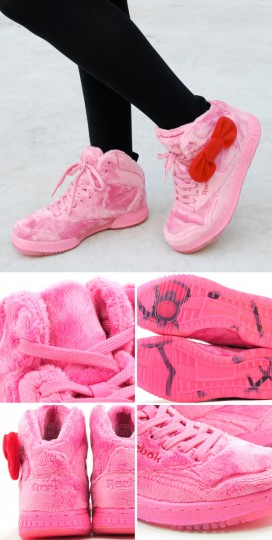 hello kitty plush Reebok sneakers