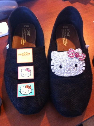 hello kitty Toms shoes