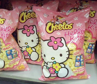 Hello Kitty Cheetos snacks