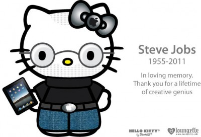 Worst Steve Jobs memorial tribute ever by Hello Kitty and Sanrio