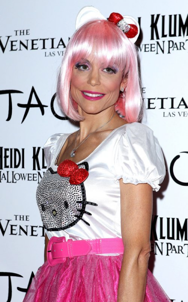 Hello Kitty Bethenny Frankel Halloween costume