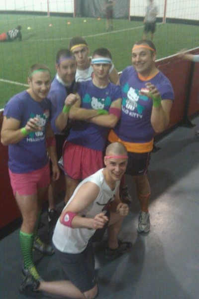 Hello Kitty dodgeball team