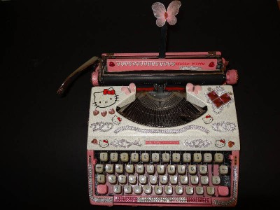 hello kitty typewriter
