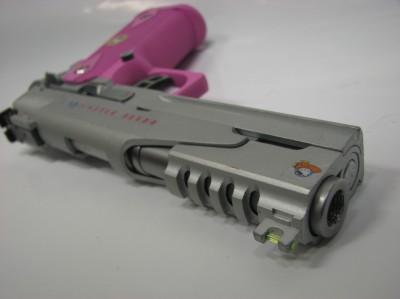 Hello Kitty pink gun
