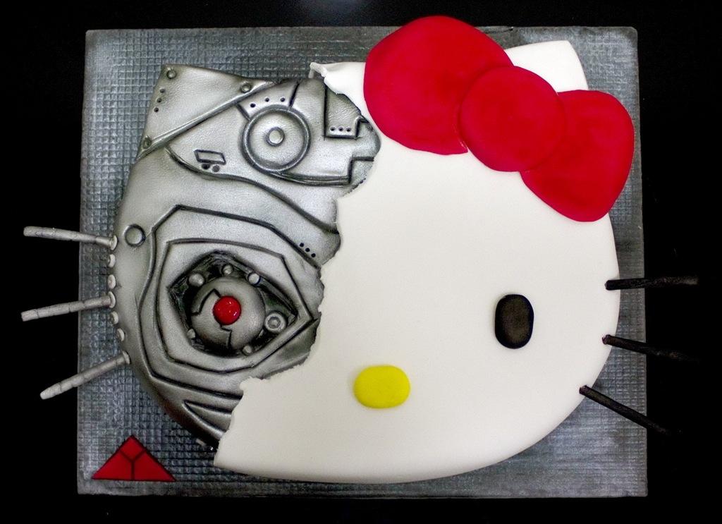 dd16b98fa Hello Kitty Terminator Cake – Hello Kitty Hell