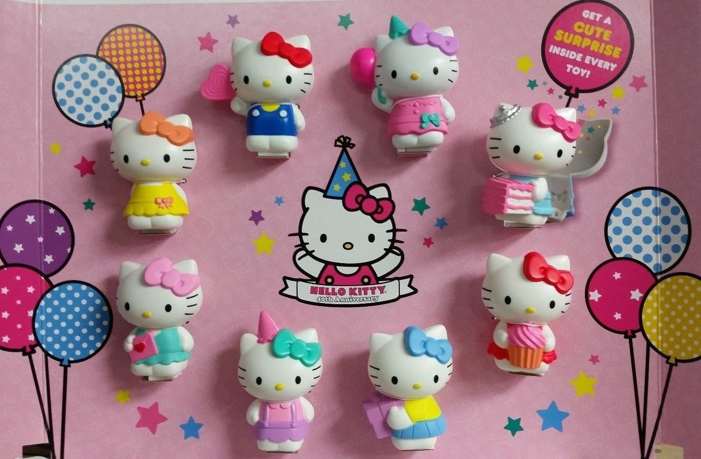 Hello Kitty 40Th Anniversary Mcdonalds Happy Meal Toy Promotion  Hello Kitty Hell